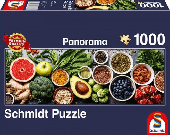 Puzzle Schmidt En la Mesa de la Cocina de 1000 Piezas