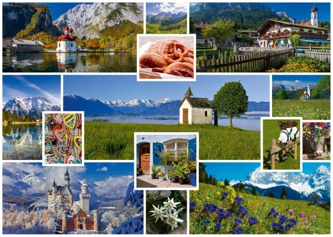 Puzzle Schmidt En las Montañas de 1000 Piezas