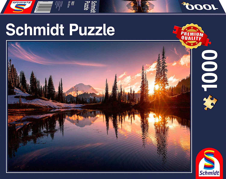 Puzzle Schmidt Escena de la Montaña de 1000 Piezas