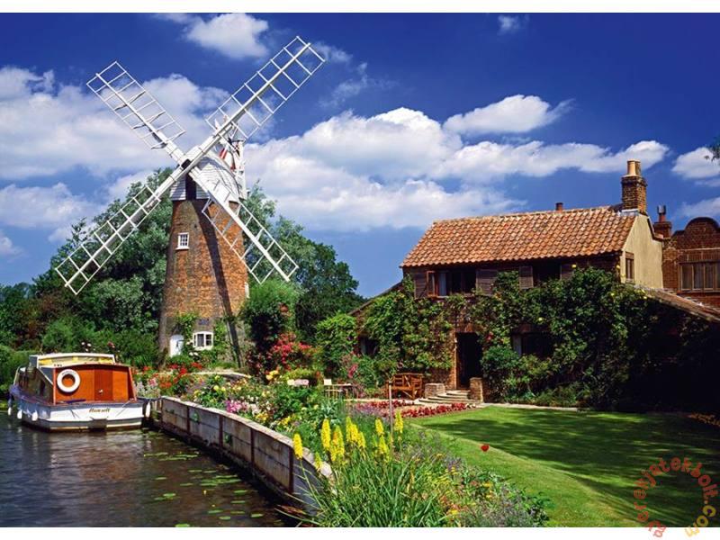 Puzzle Schmidt Escursión en Barco por Holanda de 2000 Piezas