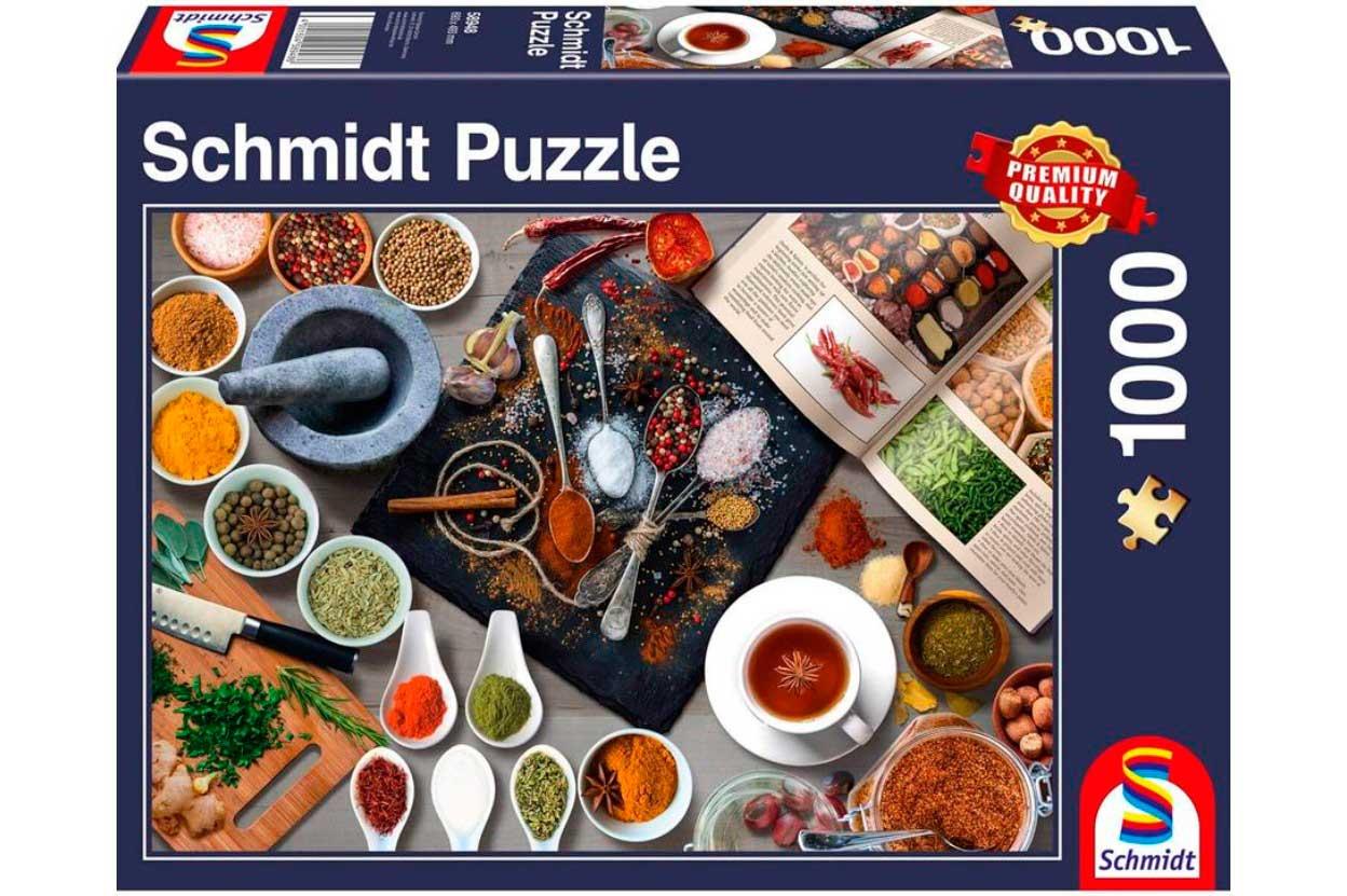 Puzzle Schmidt Especias de 1000 Piezas