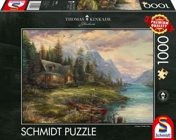 Puzzle Schmidt Excursión el Día del Padre de 1000 Piezas