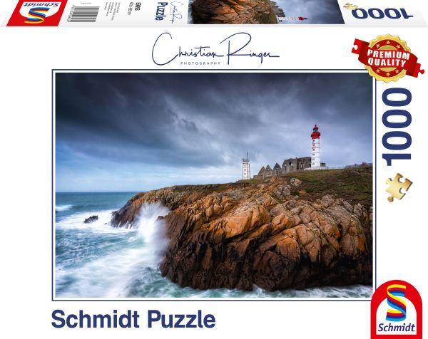 Puzzle Schmidt Faro St. Mathieu de 1000 Piezas