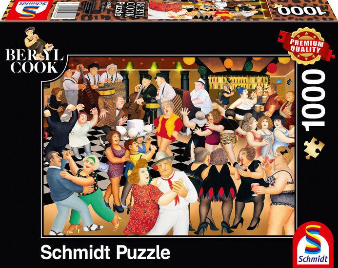 Puzzle Schmidt Fiesta de Chicas de 1000 Piezas