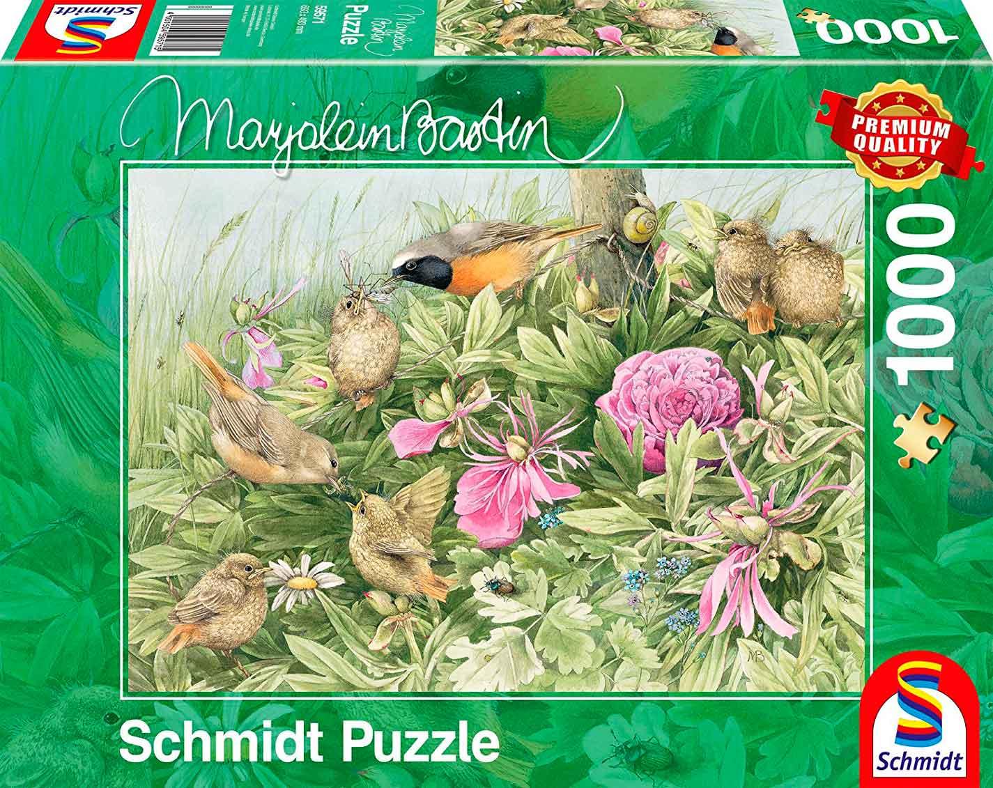 Puzzle Schmidt Fiesta en el Prado de 1000 Piezas