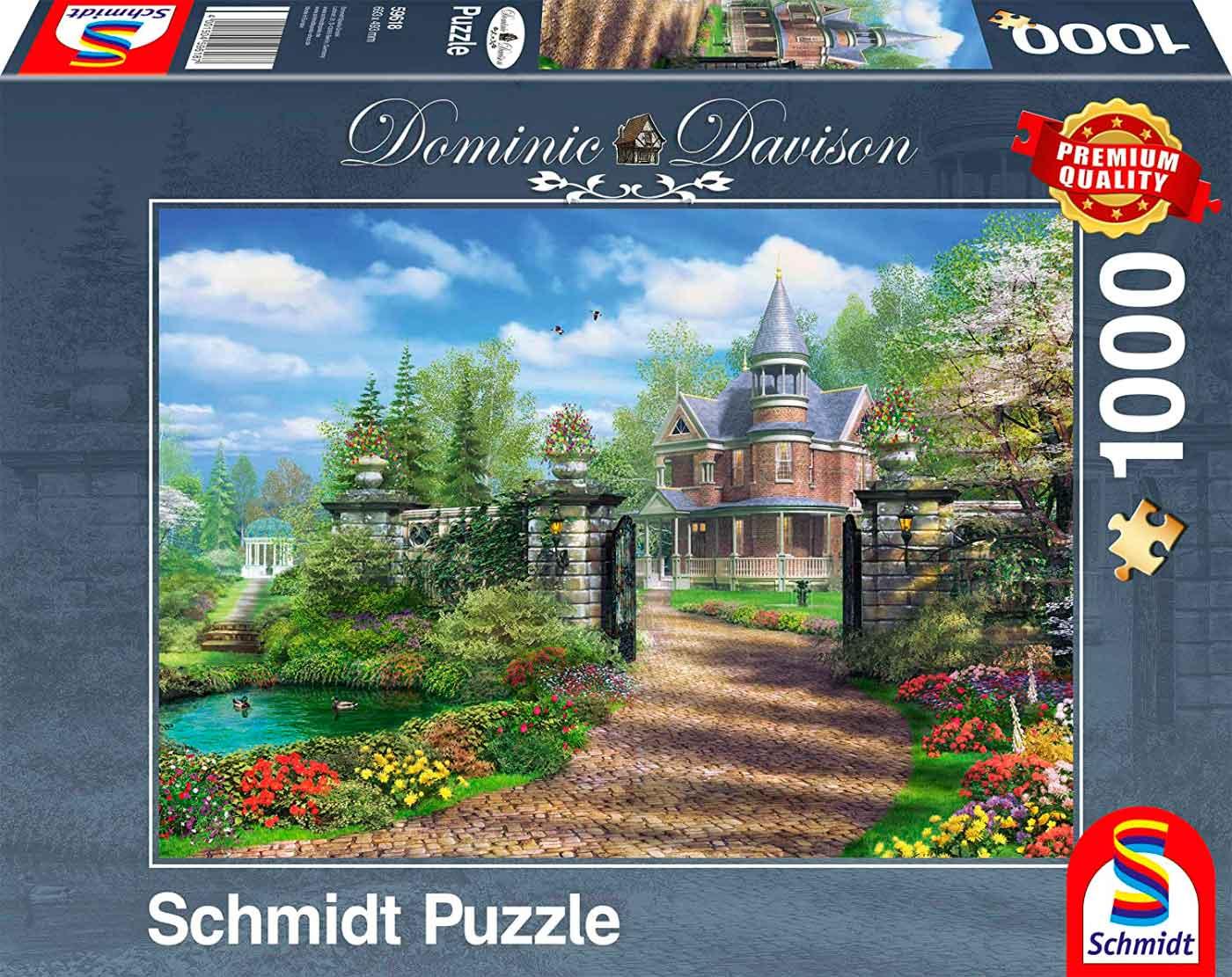 Puzzle Schmidt Finca Idílica en el Campo de 1000 Piezas