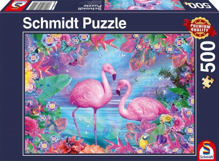 Puzzle Schmidt Flamencos de 500 Piezas