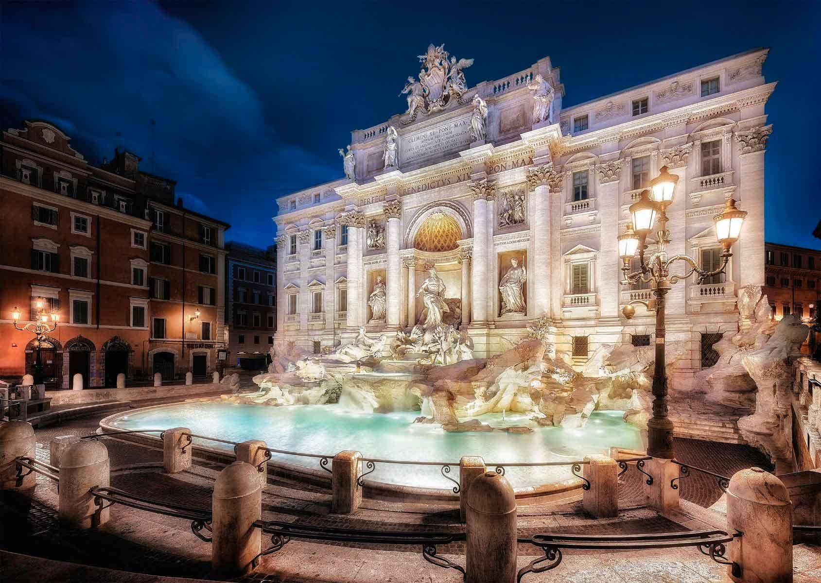 Puzzle Schmidt  Fontana di Trevi, Roma de 1000 Piezas
