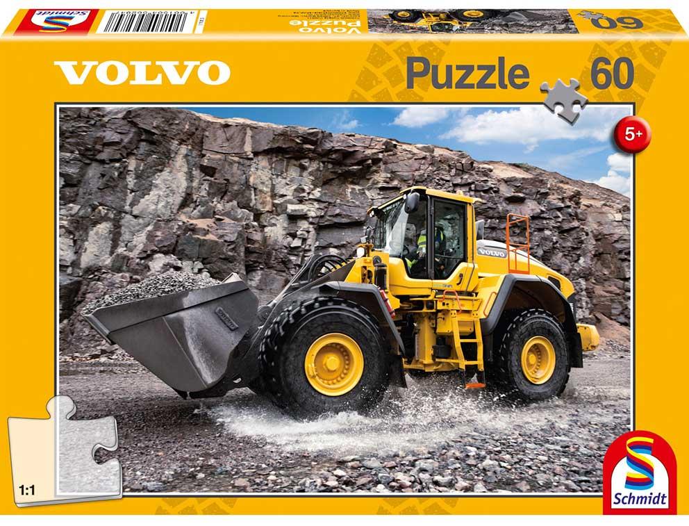 Puzzle Schmidt Máquina Escavadora Volvo L150H de 60Piezas