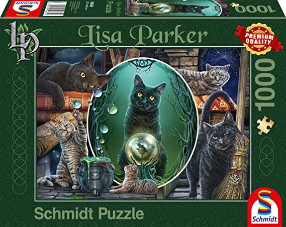 Puzzle Schmidt Gatos Mágicos de 1000 Piezas