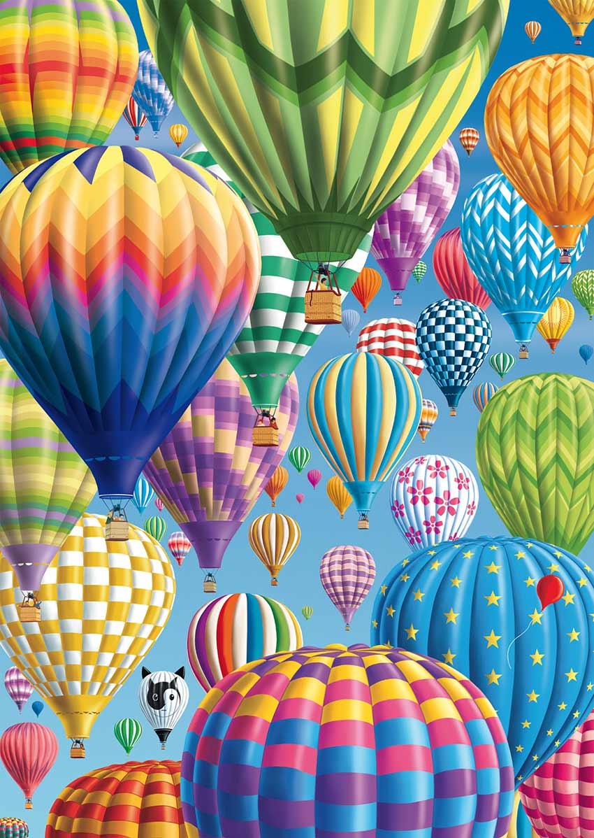 Comprar Puzzle Schmidt Globos de Colores de 1000 Piezas - Schmidt-58286