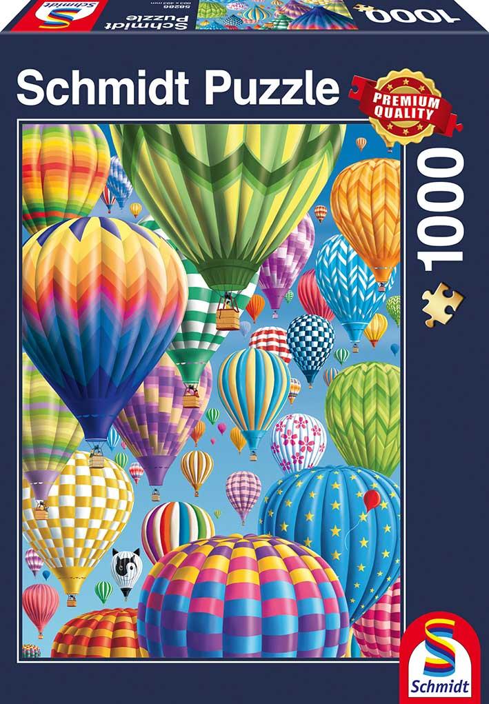 Puzzle Schmidt  Globos de Colores de 1000 Piezas