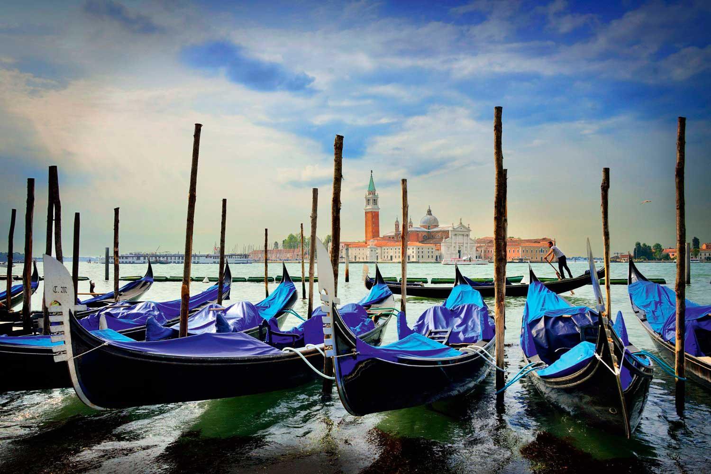 Puzzle Schmidt Góndolas en Venecia de 1000 Piezas