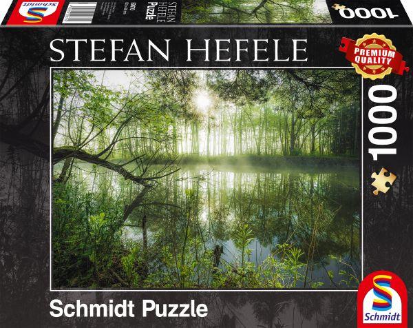 Puzzle Schmidt Hogar Selvático de 1000 Piezas