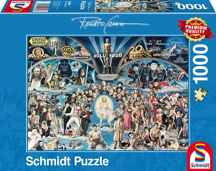 Puzzle Schmidt Hollywood de 1000 Piezas