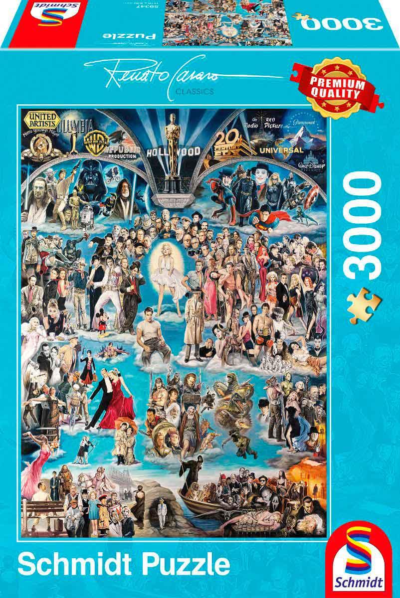 Puzzle Schmidt HollyWood de 3000 Piezas