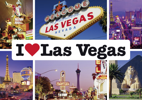 Puzzle Schmidt I Love las Vegas de 1000 Piezas