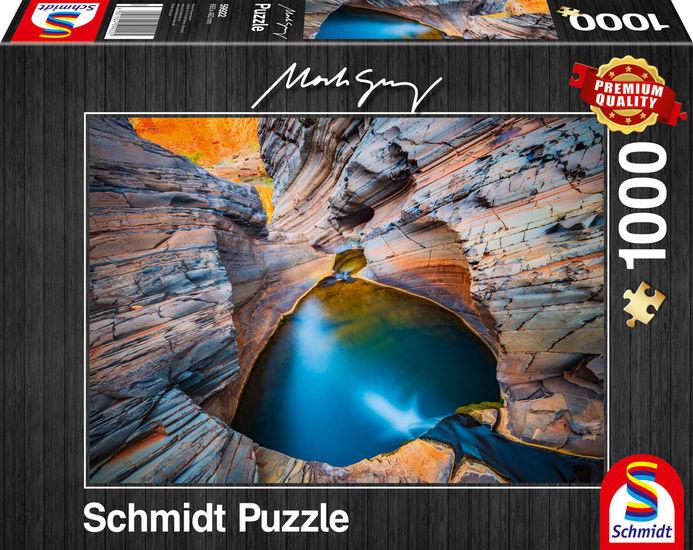 Puzzle Schmidt Indigo de 1000 Piezas