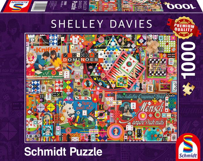 Puzzle Schmidt Juegos de Mesa Vintage de 1000 Piezas