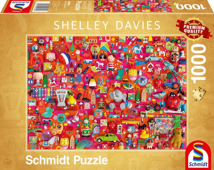 Puzzle Schmidt Juguetes Vintage de 1000 Piezas
