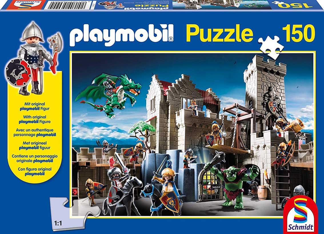 Puzzle Schmidt La Batalla del Tesoro Real de Playmobil 150 Pieza