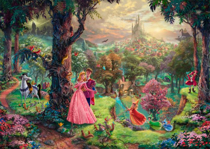 Puzzle Schmidt Disney La Bella Durmiente de 1000 Piezas