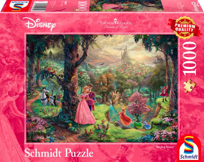 Puzzle Schmidt La Bella Durmiente de 1000 Piezas