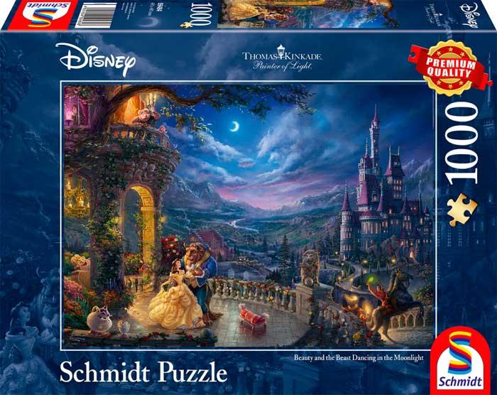 Puzzle Schmidt Disney La Bella y la Bestia de 1000 Piezas