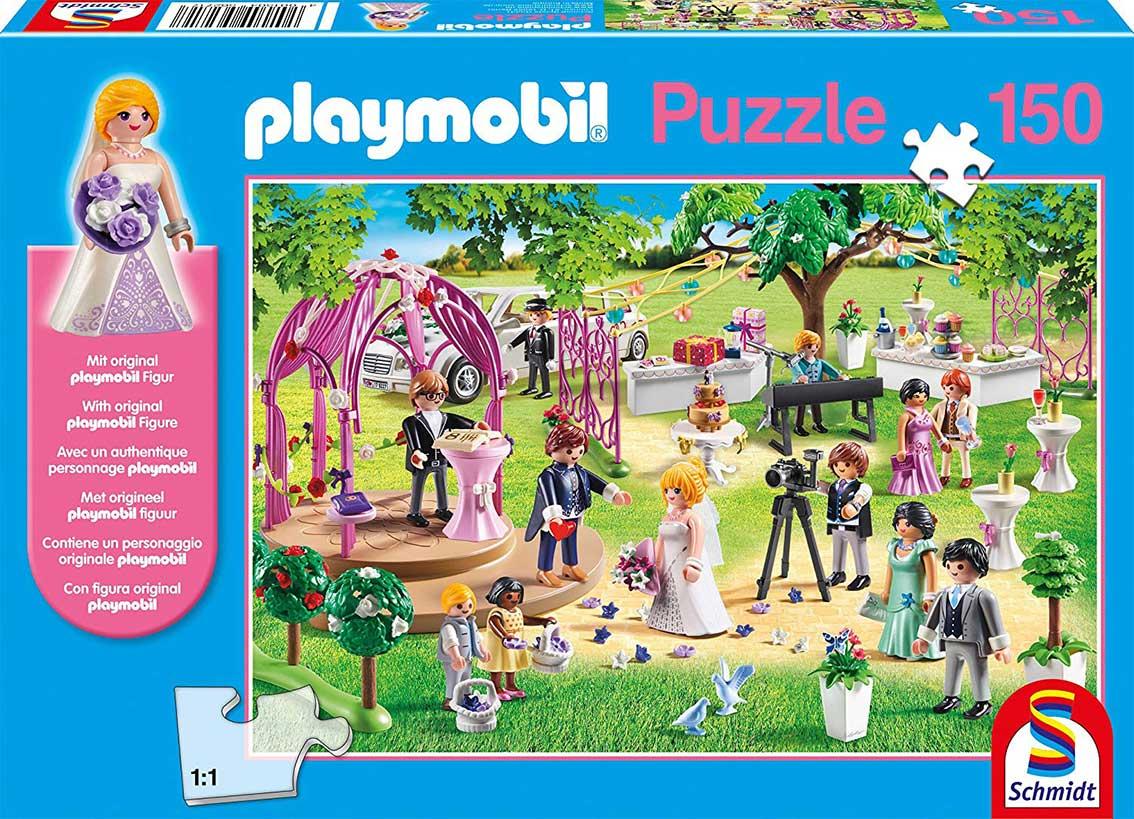 Puzzle Schmidt La Boda de Playmobil 150 Piezas