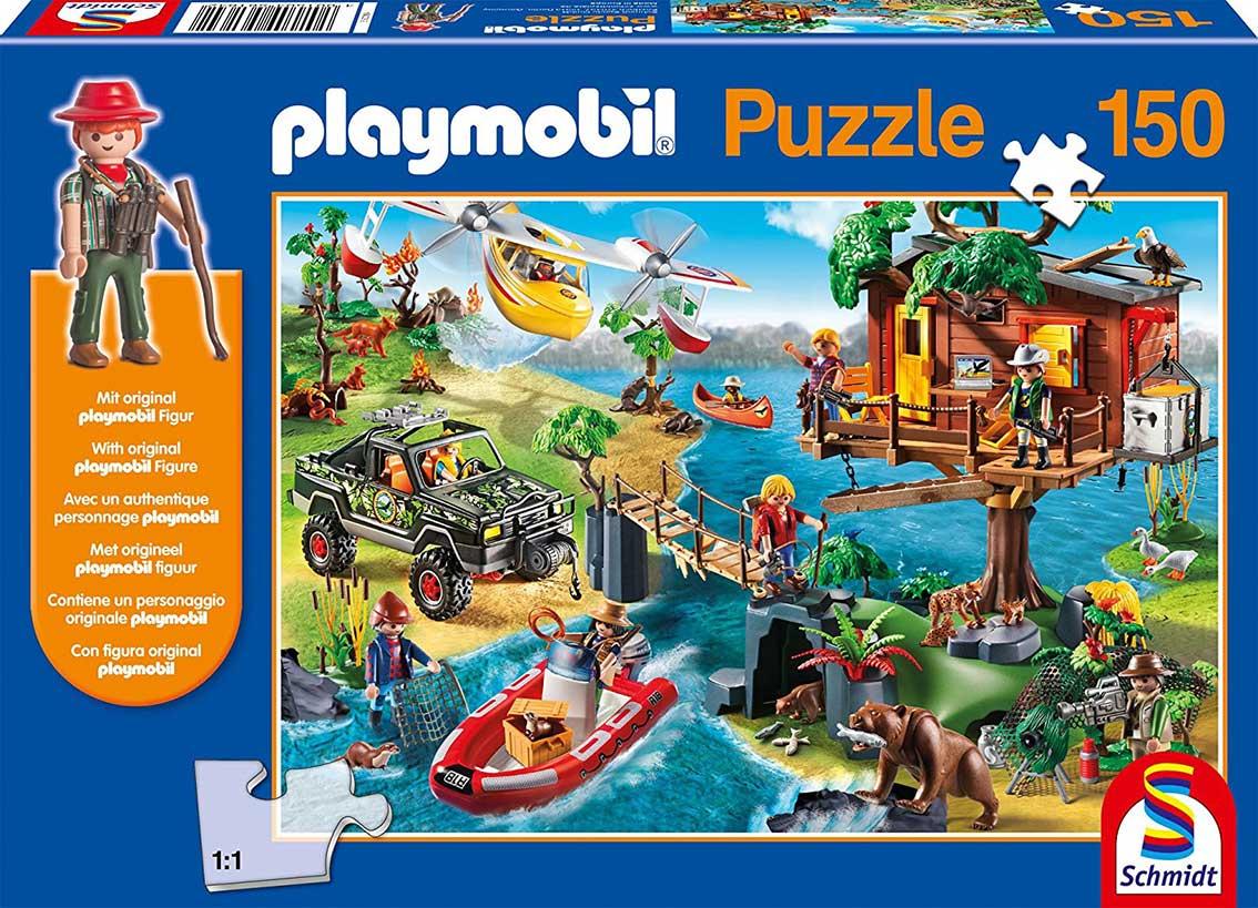 Puzzle Schmidt La Casa Del Arbol de Playmobil 150 Piezas