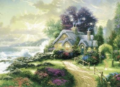 Puzzle Schmidt La Casa del Mar de 1000 Piezas