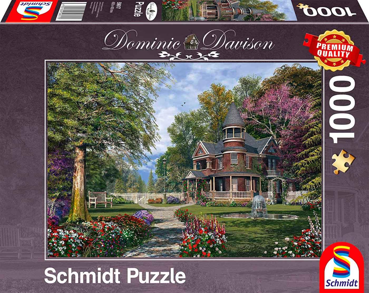 Puzzle Schmidt La Casa Señorial de 1000 Piezas