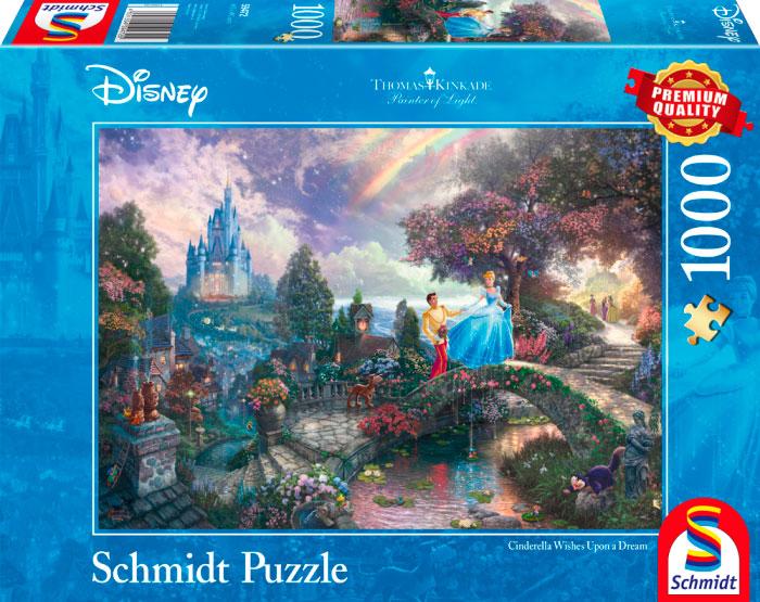 Puzzle Schmidt La Cenicienta de 1000 Piezas