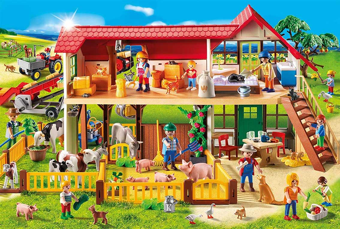 Puzzle Schmidt La Granja de Playmobil de 100 Piezas