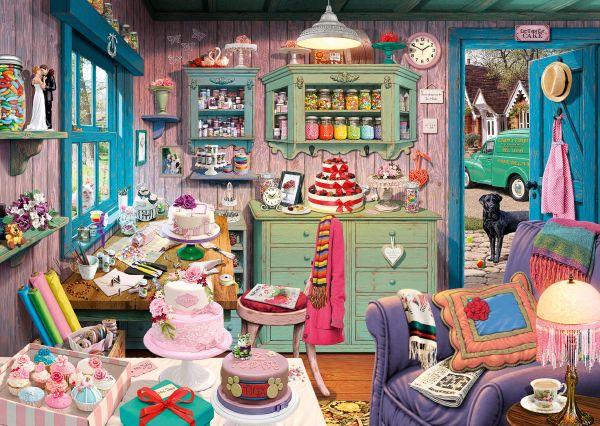 Puzzle Schmidt  La Habitación de la Abuela-Secret Puzzles de 100
