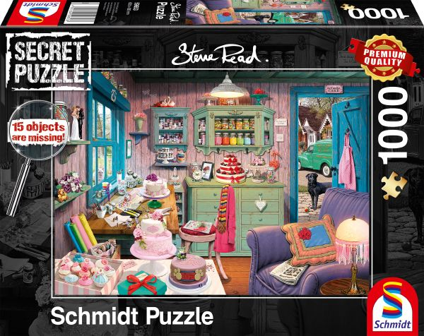 Puzzle Schmidt  La Habitación de la Abuela-Secret Puzzles 1000 P