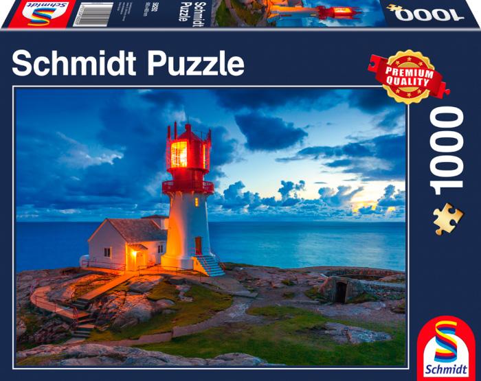 Puzzle Schmidt La Luz del Faro de 1000 Piezas