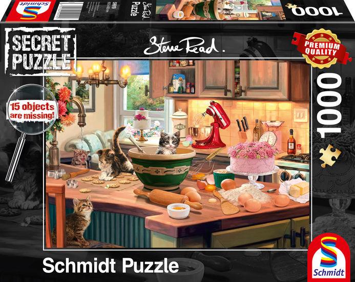 Puzzle Schmidt  La Mesa de la Cocina - Secret Puzzles de 1000 Pz