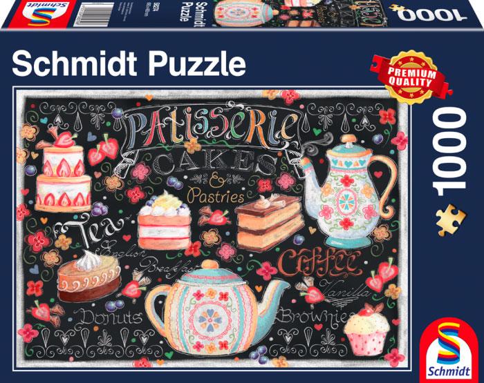 Puzzle Schmidt La Pastelería de 1000 Piezas