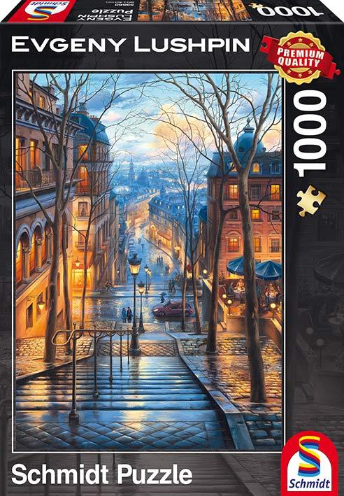 Puzzle Schmidt La Primavera desde Montmartre, París de 1000 Piez