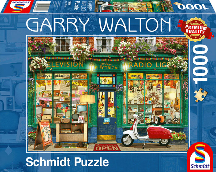 Puzzle Schmidt La Tienda de Electrodomésticos de 1000 Piezas