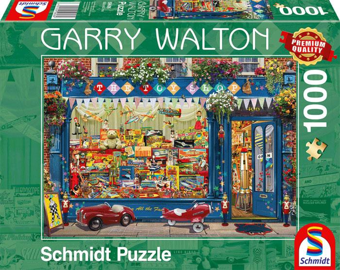 Puzzle Schmidt La Tienda de Juguetes de 1000 Piezas