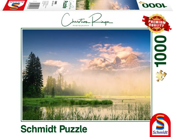Puzzle Schmidt Lago Taubensee de 1000 Piezas