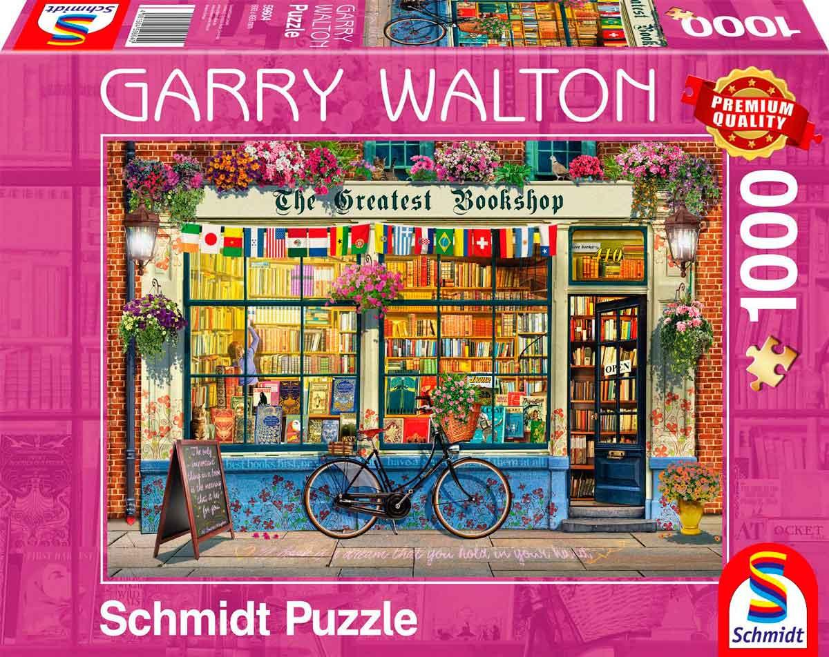 Puzzle Schmidt Librería de 1000 Piezas
