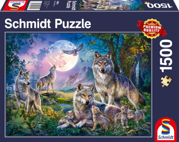 Puzzle Schmidt Lobos de 1500 Piezas