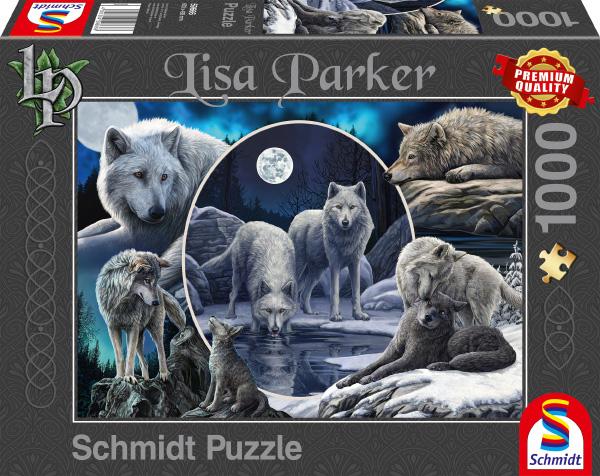Puzzle Schmidt Lobos Magníficos de 1000 Piezas