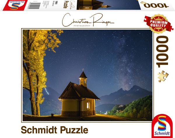 Puzzle Schmidt Lockstein, Vía Láctea de 1000 Piezas