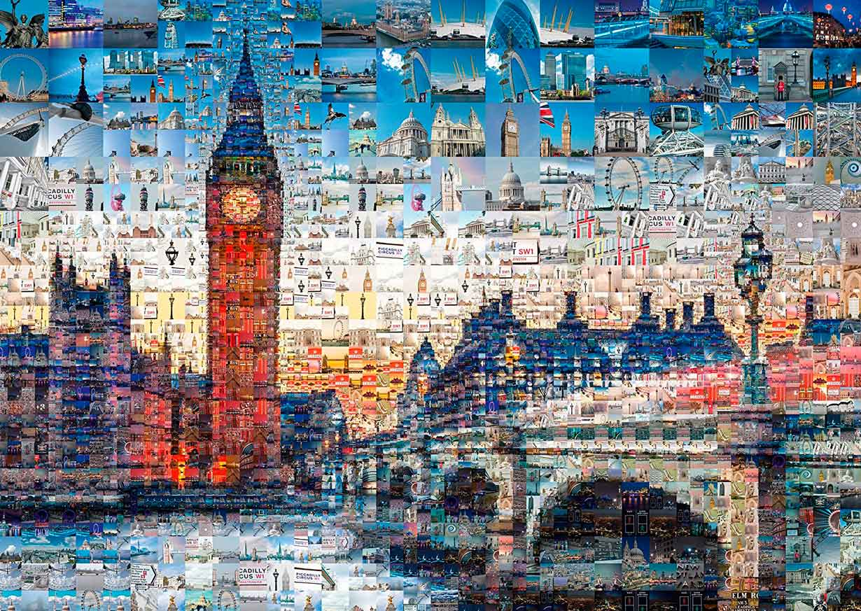 Puzzle Schmidt Londres de 1000 Piezas