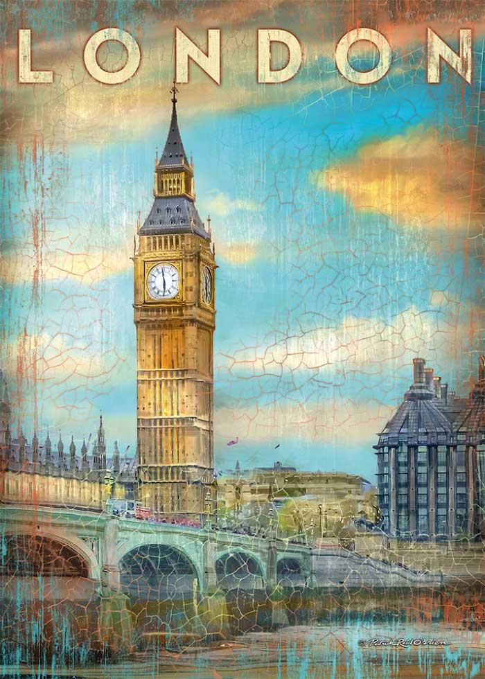Puzzle Schmidt Londres, Inglaterra de 1000 Piezas