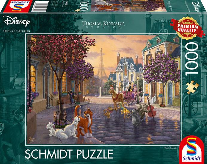 Puzzle Schmidt Los Aristogatos de 1000 Piezas